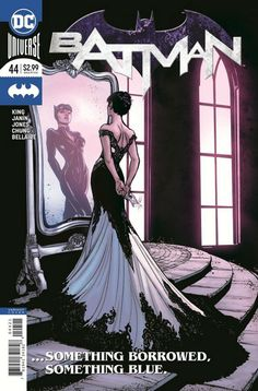 COMIC BOOK: Batman # 44 Vol III (Cover B Variant). PUBLISHER: DC Comics. WRITER(S) Tom King. ARTIST: Mikel Janin, Joelle Jones. COVER ARTIST: Joelle Jones. ORIGINAL RELEASE DATE: 4 / 4 / 2018. COVER PRICE: $2.99. RATING: Teen +.