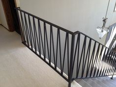 new design for entrance railing?