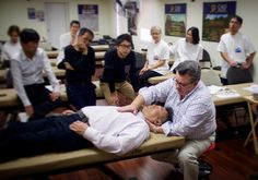 Robert Johnston treating Kazunori Matsuzawa from The Japan institute of Classical Osteopathy  #osteopath #osteopathy #HamOnt #CAO #ManualTherapy #AlternativeMedicine #Demonstration #Love #osteopathic #HamiltonOntario #HigherEducation #Health #ATStill #picoftheday #instagood #Instahealth #Instalike #PhotooftheDay #Anatomy #JICO #FoundersWeekend #CAOGrandEvent