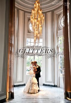 Style File: All That Glitters | WedLuxe Magazine | Planning & Design- Divine Occasions | Photography- @Charlton Inije of Inije Photography