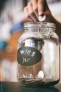 Saving: Putting A Quarter Into The Swear Jar by Sean Locke
