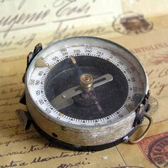vintage old compass... Mar 24 by CoolVintage on Etsy, $21.50