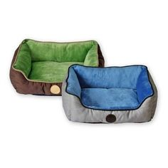 Self-Warming Lounger Sleeper - Gray/Blue made from recycled materials. www.fortailsonly.com Use Danielle Hullum IH#251 at checkout