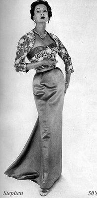 Barbara Goalen, Model, 1950's