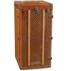 louis vuitton antique trunks | Louis Vuitton Vintage Monogram Canvas Steamer Trunk at 1stdibs