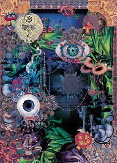 'Noche de Verano' - Digital collage - 100x70cm - £POA
