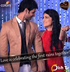 comment one person you would love to celebrate the first rains with! -->  Radhika Madan Shakti Arora  #dishtvuae