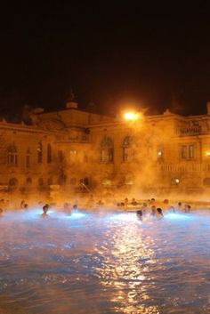 The Szechenyi thermal baths in Budapest will give you another reason to add Hungary's capital to your European vacation.