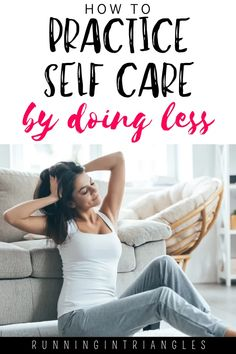 Self care is important but if it starts to feel like a chore, then it defeats the purpose. Instead, practice self care by doing less things. #selfcare #selfcareformoms #mentalhealth