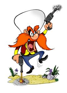 Egad 63 - Lone Wolf by arsdraconis on DeviantArt Classic Cartoon Characters, Looney Tunes Characters, Looney Tunes Cartoons, Classic Cartoons, Funny Cartoons, Yosemite Sam, Cartoon Crazy, Cartoon Tv, Saturday Morning Cartoons