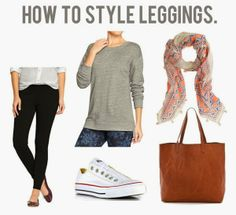 jillgg's good life (for less)   a style blog: how to style leggings for fall!