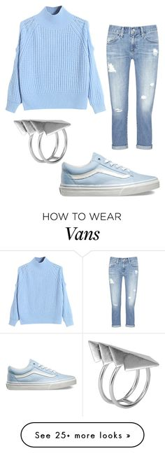 """casual outfits"" by cupackesandunicorns on Polyvore featuring WithChic, Vans, AG Adriano Goldschmied, First People First, women's clothing, women's fashion, women, female, woman and misses"