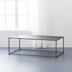 Mill coffee table - cb2 - living room idea