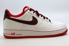 new style f1db4 d70ea New Nike Men s Air Force 1 White University Red 2014 488298-139 SZ 10.5   Kixify  Marketplace