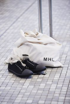 MHL SS16 Campaign. Photographed at The National Sports Centre Crystal Palace, London. Photography by Matt Hind