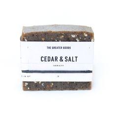 Cedar & Salt Soap