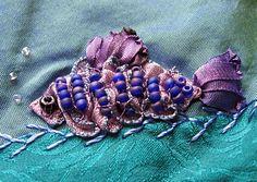 ribbon and bead fish UTS#3