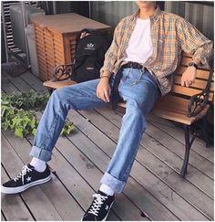 80s Fashion Men, New Mens Fashion Trends, Korean Fashion Men, Vintage Fashion Men, Latex Fashion, Korean Men Style, 90s Style Men, Fashion History, Fashion 2020
