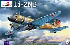 Lisunov Li-2NB. A Model, 1/72, No.AMU72231. 30 GBP.