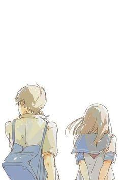 Cute Couple Drawings, Cute Couple Art, Anime Love Couple, Cute Anime Couples, Cute Drawings, Film Manga, Character Art, Character Design, Fanart