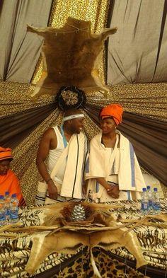 Xhosa traditional wear. Imibhaco yomtshato