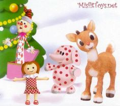 Christmas - Rudolph & Misfit Toys (120 pieces)