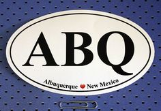 Albuquerque oval bum