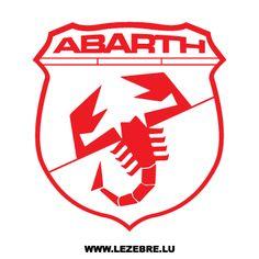Logo ABARTH Fiat Abarth, Fiat 600, Car Badges, Car Logos, Car Symbols, Airline Logo, Badge Logo, Car Manufacturers, Cars Motorcycles