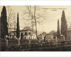 Amazon.com: Photographic Print of Bursa - Turkey - Mosque and Tomb of Sultan Murad: Posters & Prints