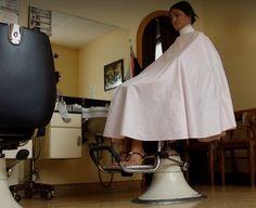 Bald Girl, Buzz Cuts, Barber Chair, Beauty Salons, Barber Shop, Hairdresser, Haircuts, Short Hair Styles, Layers