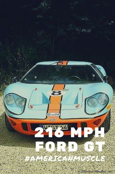 Ford Gt Mph Americanmuscle