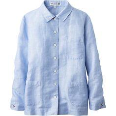 blue linen shirt womens - Поиск в Google