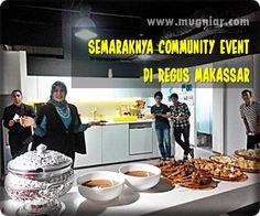 Selalu ada yang berbeda pada setiap Community Event di Regus Makassar. Selain karena tema tiap bulannya berbeda, selalu ada pembicara tamu yang berbeda, dan sajian makanan yang berbeda. Makanan? Ya, pada Community Event, Regus Makassar menjamu para klien dan tamunya. Sudah tiga kali saya menghadirinya, sejak bulan Oktober, ketiga event berlangsung secara menarik dan unik   http://www.mugniar.com/2016/12/community-event-di-regus-makassar.html  #coworkingspace #hotelkantor #global #nasional…