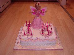 Flying Princess Barbie, Twins, 16th Birthday Cake