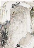 Wu Guanzhong - Sunlight Rock, 1980, Mounted scroll... on MutualArt.com