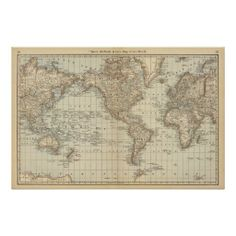Outline world map pdf and vector eps free download printable map of the world 2 poster gumiabroncs Image collections