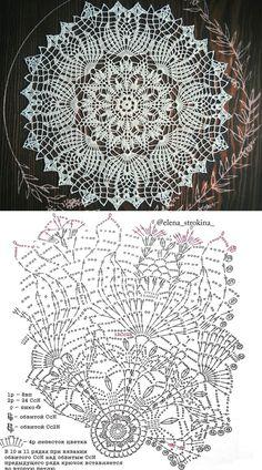 Ideas For Crochet Lace Top Pattern Doilies Free Crochet Doily Patterns, Crochet Doily Diagram, Crochet Motif, Crochet Tablecloth Pattern, Crochet Coaster, Lace Doilies, Crochet Doilies, Crochet Lace, Thread Crochet