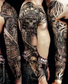 Samurai Tattoos 31