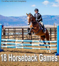 Horseback Games – Bits and Broadheads Equestrian Outfits, Equestrian Style, Equestrian Fashion, Game Bit, Horse Games, Horse Riding Games, Riding Gear, Types Of Horses, English Riding