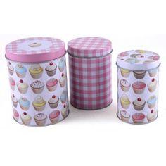 Set de 3 cajas CUPCAKE - PICTURES OF LILI - ChicPlace