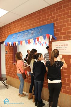 - School Decorations Concession stand awning