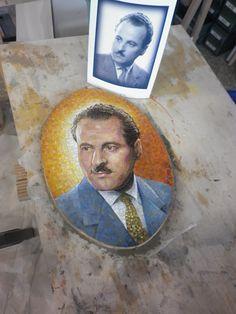 mosaic By Giulio Menossi