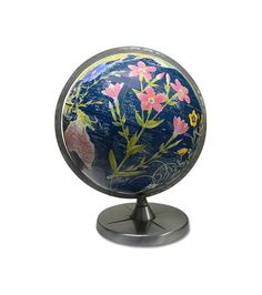 Flower Power Globe by wendygold on Etsy, $450.00