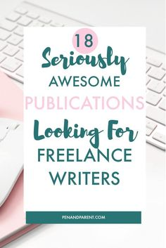 Are you interested in working from home and want to become a freelance writer? Finding writing publications, blogs and websites that pay freelance writers can be difficult. You must check out these 18 parenting publications that can jumpstart your freelance writing career and help you make money. FREE GUIDE TO 50 Paying Publications Click through or save to read later. |freelance writing for beginners money| freelance writing for beginners tips money via…