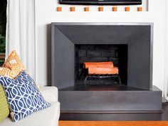 Before-and-after Fireplace Makeovers