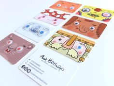 Business Cards - Ana Bermejo  #businesscards #weop #onpoint