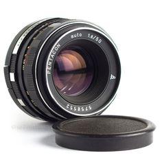 Pentacon 50mm f1.8 Lens M42 Pentax Screw Fit DSLR Adaptable EOS MFT BMCC