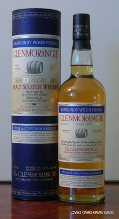 Glenmorangie Burgundy Wood Finish Feb 2005 Scotch Whiskey, Irish Whiskey, Malt Whisky, Cellar, Bourbon, Whiskey Bottle, Liquor, Vodka, Gentleman