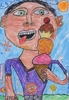Art House & Garden houses for rent in bell gardens ca Art Lessons For Kids, Art For Kids, Painting For Kids, Drawing For Kids, 2nd Grade Art, Art Houses, Garden Houses, House Art, Kids Artwork
