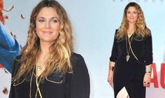 SHE only gave birth to her second child less than a month ago, but Drew Barrymore already seems to have shed the baby weight.